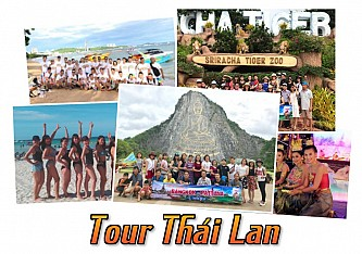 Tour du lịch Thái Lan 2019
