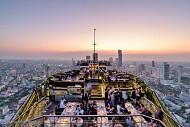 Những quán bar có view ngắm toàn cảnh thành phố Bangkok của Thái Lan.