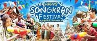 Tết té nước mừng năm mới vui nhộn của Thái Lan mang tên Songkran
