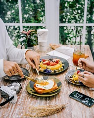 Thỏa sức tung tăng cùng thiên đường cafe trải rộng Bangkok Thái Lan