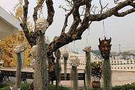 Viếng thăm ngôi chùa trắng tại Thái Lan.
