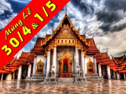 Tour Du Lịch Thái Lan nhân dịp lễ 30.4 - 1.5: Mini Siam - Đảo Coral (Vietnam Airlines)