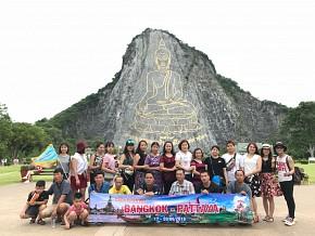 Thái Lan 5N4Đ tặng Buffe Baiyoke + Massage Thái Khởi Hành 12/12/2018