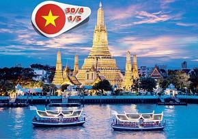 Tour Du Lịch Bangkok – Pattaya 5 Ngày 4 Đêm khởi hành 28/4