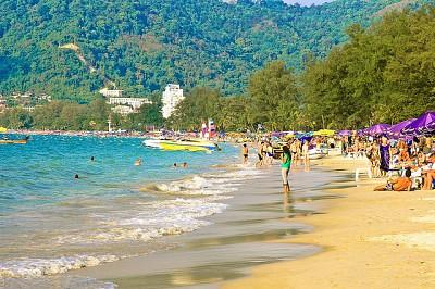 Bãi Biển Patong Thái Lan