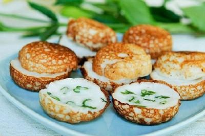 Bánh dừa (Khanom krok) Thái Lan