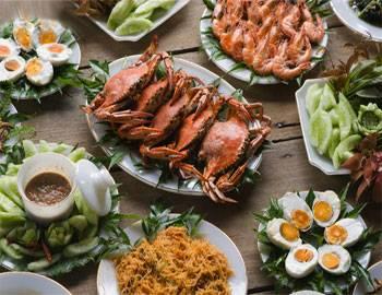 Đa dạng ẩm thực Thái Lan