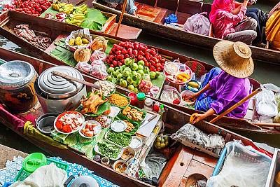 Khám Phá Damnoen Saduak- Khu Chợ Nổi Lâu Đời Nhất Thái Lan