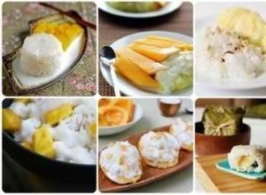 Điểm qua các món xôi ngọt trứ danh của Thái Lan