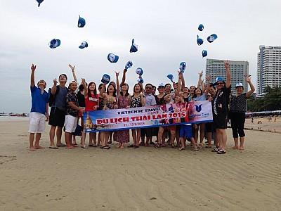 Đoàn Tour Tham Gia Khám Phá Vẻ Đẹp Mảnh Đất Thái Lan Tháng 8