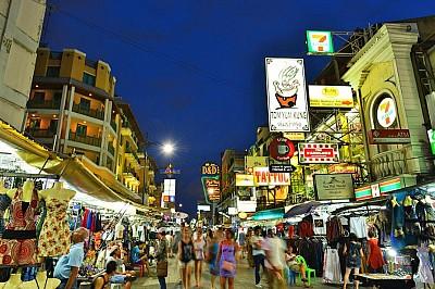 Khảo sát con đường dịch vụ Khao San, điểm đến Thái Lan dành cho những vị khách lần đầu tới thăm, 2018