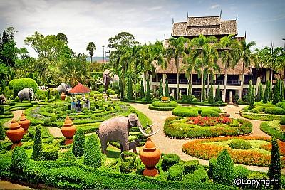Làng văn hóa dân tộc Nong Nooch ở Thái Lan nơi đáng để thăm quan