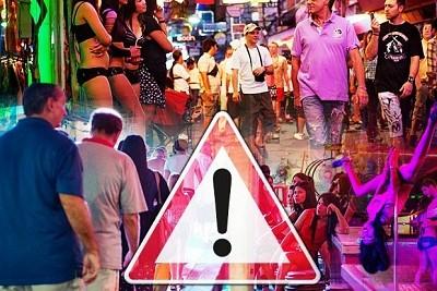 Pattaya tuyên bố quét sạch mại dâm nhưng khách vẫn ''đông như kiến''