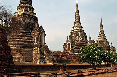 Thành cổ Ayutthaya Thái Lan