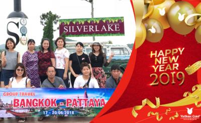 Hồ Chí Minh - Bangkok - Pattaya Dịp Tết Dương Lịch và Âm Lịch