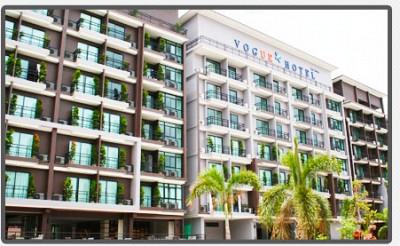 Vogue Pattaya khách sạn tiêu chuẩn 3 sao ở trung tâm của thành phố