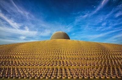 Wat Phra Dhammakaya, ngôi chùa có triệu tượng phật ở Thái Lan