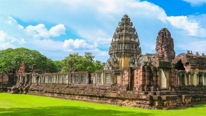Đến thăm ngôi đền Khmer Phimai lớn nhất ở Thái Lan