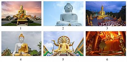 Điểm danh những bức tượng khổng lồ về Đức Phật ở Thái Lan