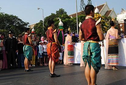 Nét độc đáo trong trang phục truyền thống Thái Lan