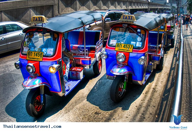 Kinh nghiệm đi xe tuk tuk ở Thái Lan. - Ảnh 2