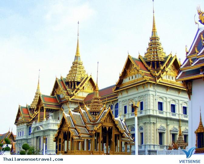 Chiêm ngưỡng Hoàng cung lộng lẫy của Thái Lan - Ảnh 3