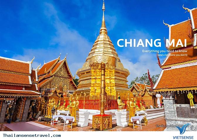 Chiangmai - cùng trải nghiệm lễ hội té nước với nhiều điều lý thú
