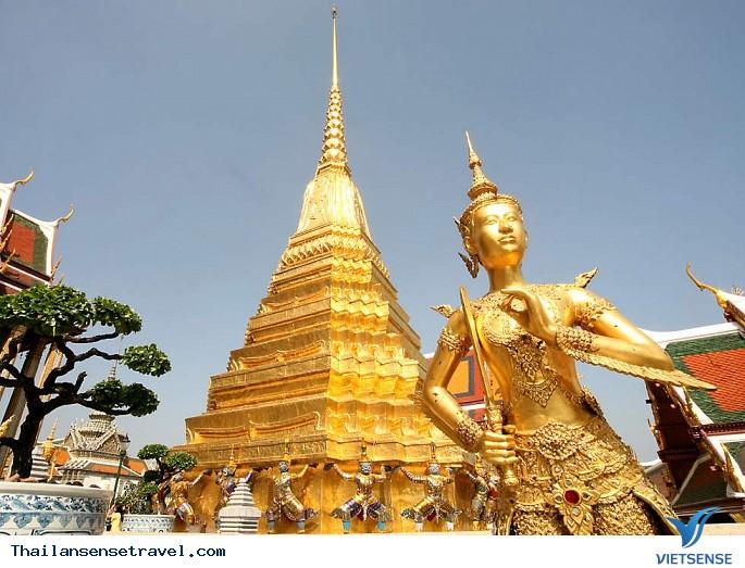 Chùa Phật Ngọc (Wat Phra Kaew) Bangkok Thái Lan