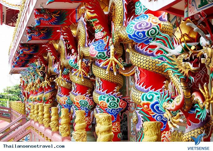 Ghé thăm ngôi chùa mang đậm dấu ấn Trung Quốc trên đấ Thái - Ảnh 1