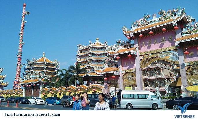 Ghé thăm ngôi chùa mang đậm dấu ấn Trung Quốc trên đấ Thái - Ảnh 2