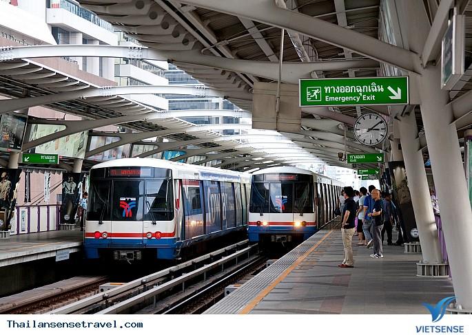 Tàu điện Bangkok Sky Train (BTS)