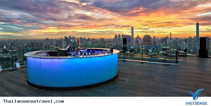 Octave Rooftop Bar - Marriott Hotel Sukhumvit Sukhumvit trên tầng 45