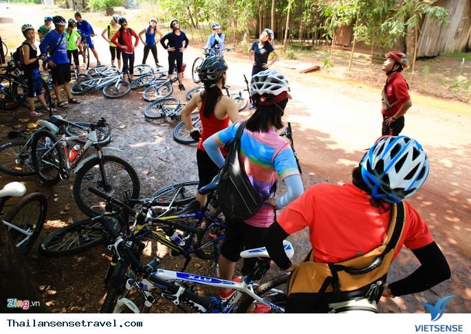 Tham gia tour du lịch đạp xe