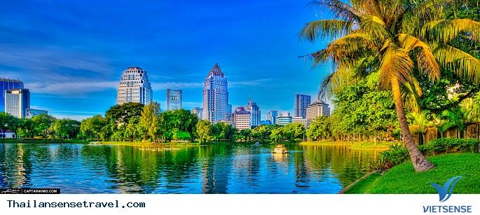 Thăm quan công viên Lumphini – Lá phổi xanh của Bangkok - Ảnh 1