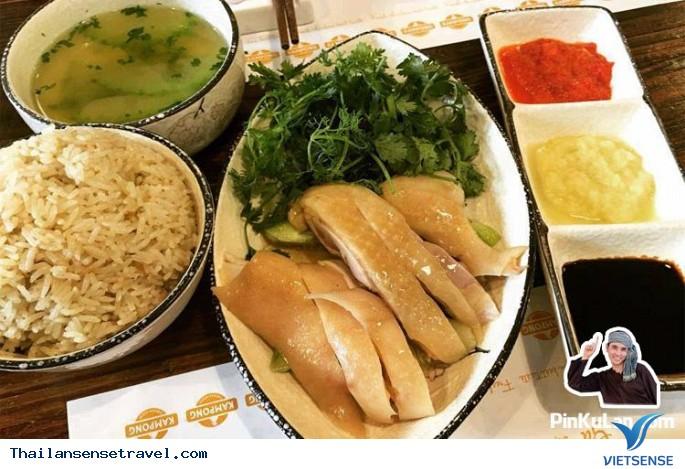 Thưởng thức cơm gà Hải Nam ở Bangkok - Ảnh 3