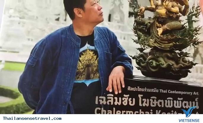 Viếng thăm ngôi chùa trắng tại Thái Lan. - Ảnh 5