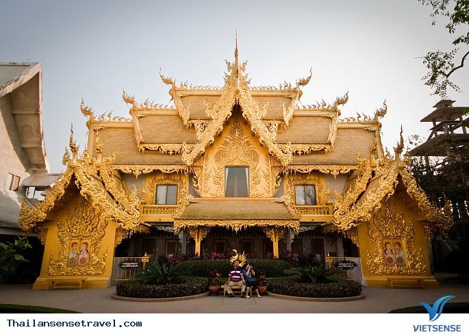 Viếng thăm ngôi chùa trắng tại Thái Lan. - Ảnh 7