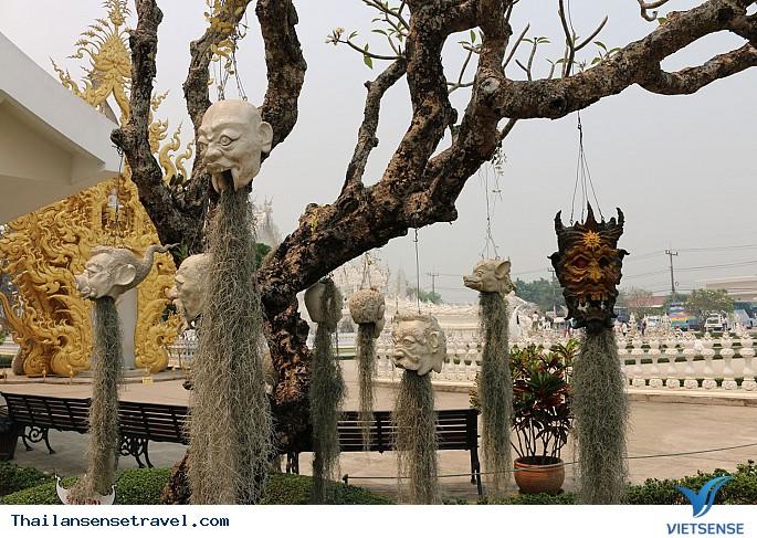 Viếng thăm ngôi chùa trắng tại Thái Lan. - Ảnh 6