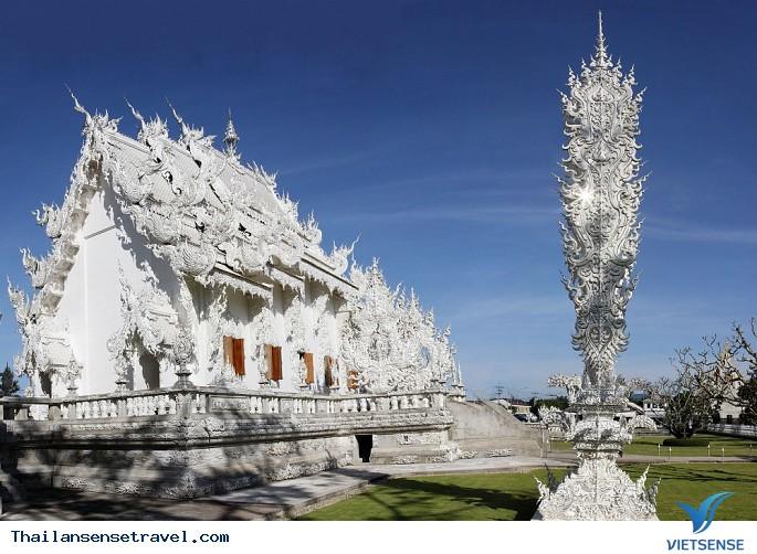 Viếng thăm ngôi chùa trắng tại Thái Lan. - Ảnh 3