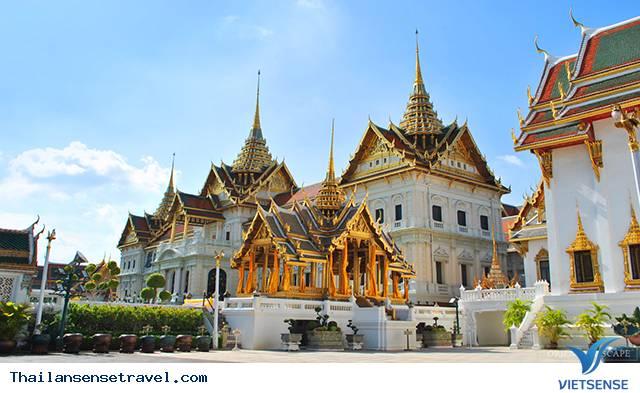 Chiêm ngưỡng Hoàng cung lộng lẫy của Thái Lan - Ảnh 7