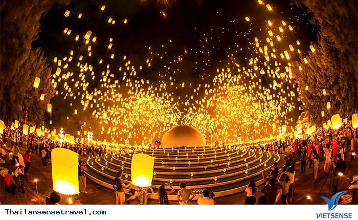 Lễ hội Yee Peng - Lễ hội hoa đăng
