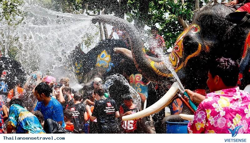 Lễ hội Songkran - Lễ hội Té nước mừng Năm mới