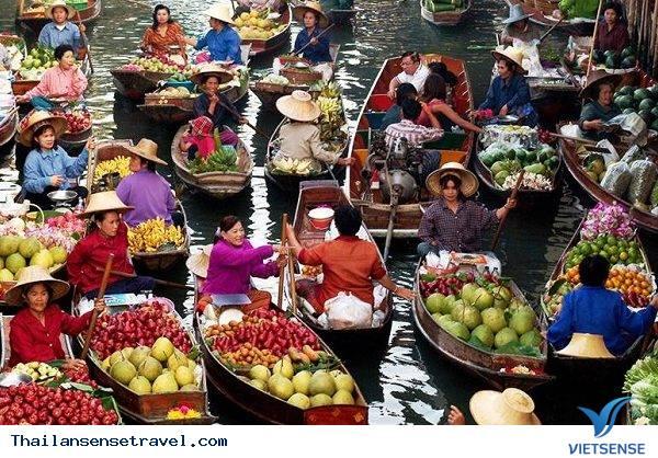 Damnoen Saduak – khu chợ nổi cổ nhất Thái Lan - Ảnh 2