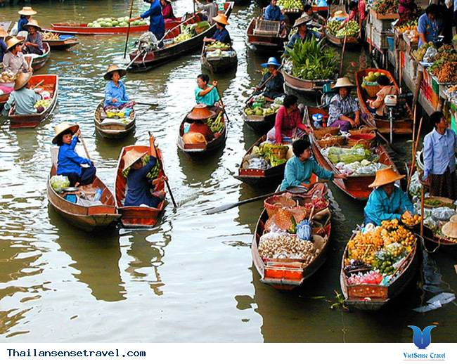 Damnoen Saduak – khu chợ nổi cổ nhất Thái Lan - Ảnh 1