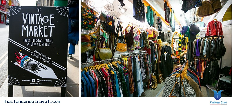 The camp vintage flea market- điểm sống ảo mới ở Bangkok - Ảnh 1