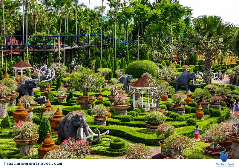 Khu vườn thiên đường Nong Nooch - Ảnh 3