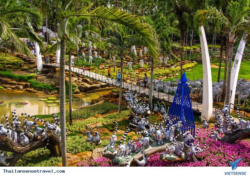 Khu vườn thiên đường Nong Nooch - Ảnh 2