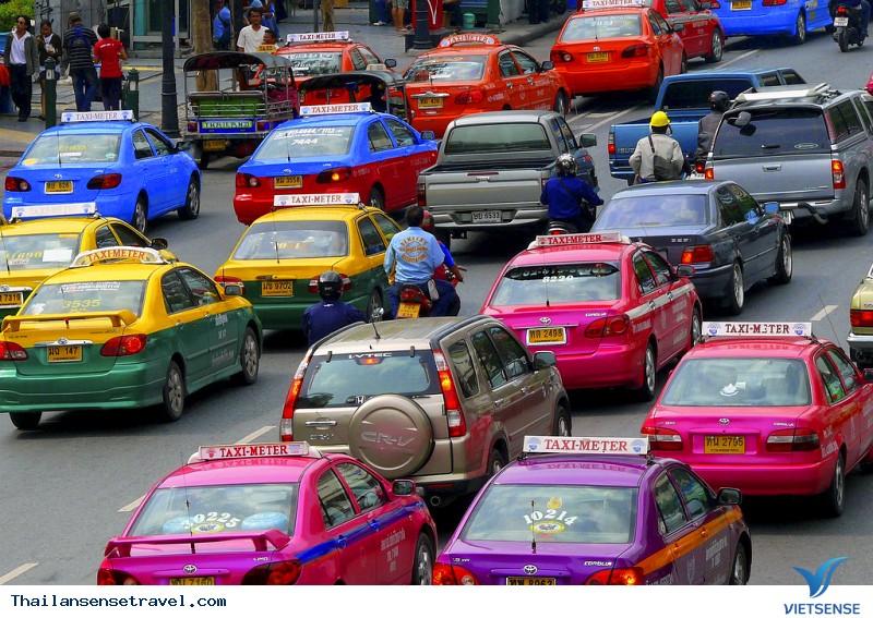 Phương Tiện Đi Lại Ở Bangkok