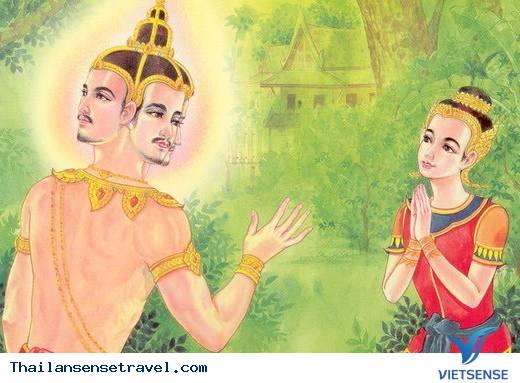 Lễ hội té nước Thái: Huyền thoại Songkran - Ảnh 1