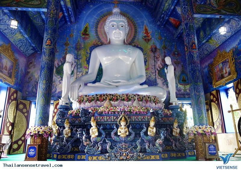 Ngất Ngây Trước Vẻ Đẹp Lạ Của Ngôi Đền Xanh Ở Thái Lan - Ảnh 7